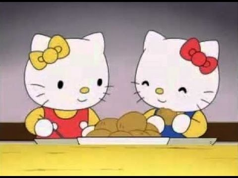 Hello Kitty and Mimi