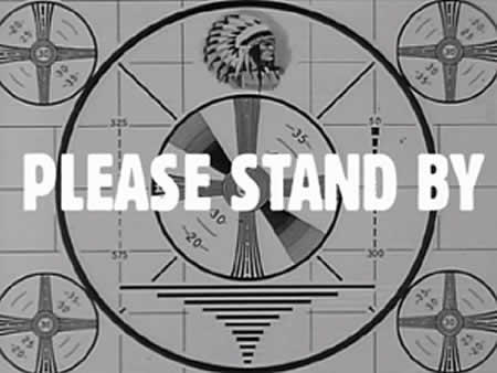Please stand by. We've just lost a good portion of our readers.