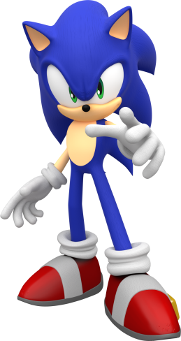 Sonic-the-Hedgehog-3D-model