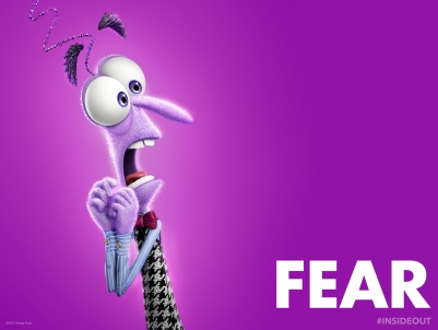 Fear's design is made to resemble a frayed nerve, tying into his Nervous Norvus persona.