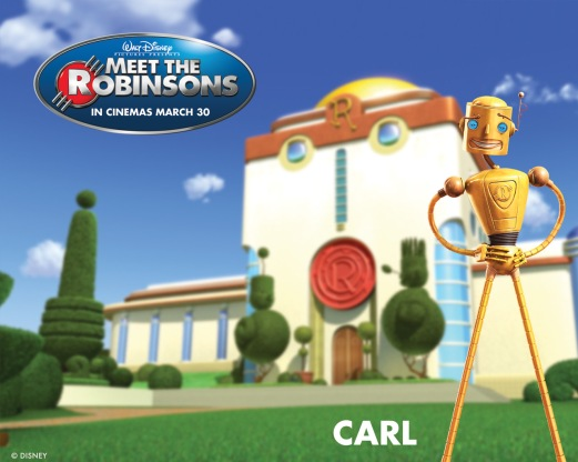 Casa Del Robinson, complete with gold-plated robot butler!