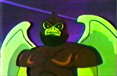 Even by mutant alien ape standards, this guy was no looker.