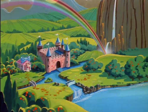 Dream Castle with Rainbow
