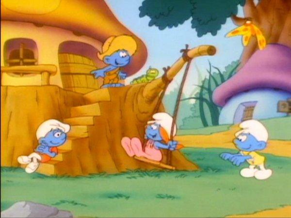 Smurflings_Playing