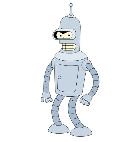 futurama__s_bender_by_muscleduck