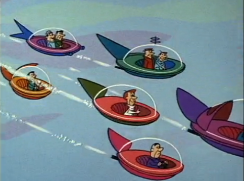 Jetsons Flying Cars