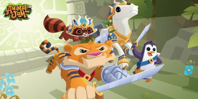Animal-Jam with Swords