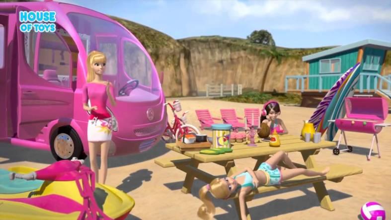 barbie-dream-van