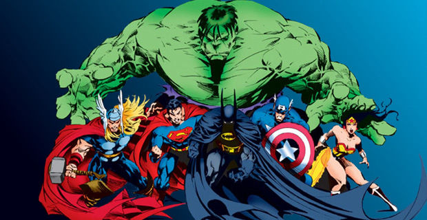 marvel-vs-dc-justice-league-avengers-team-up