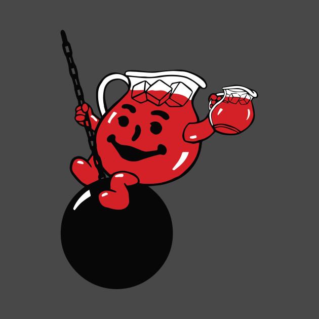 Kool-Aid Man Wrecking Ball