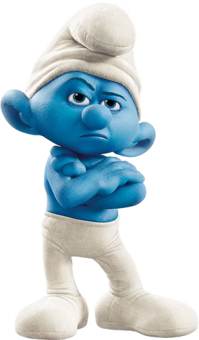 Movie_Grouchy_Smurf
