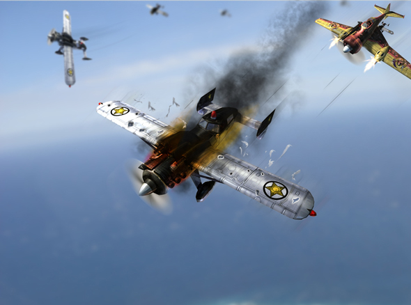Aerial Dogfight