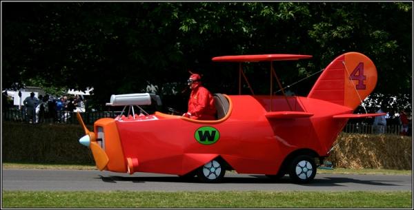 Wacky Races Rea Life Crimson Haybailer