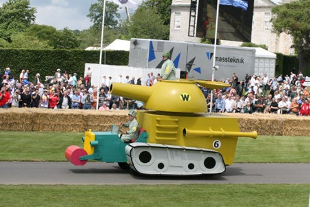 Wacky Races Real Life Army Surplus Special