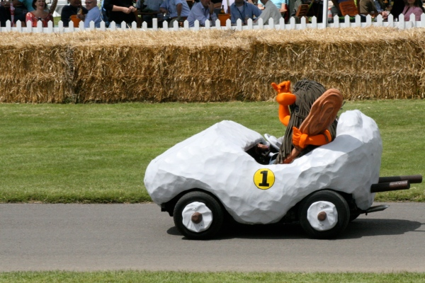 Wacky Races Real Life Boulder Mobile
