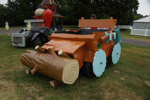 Wacky Races Real Life Buzz Wagon
