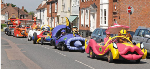 Wacky Races Real Life Cars