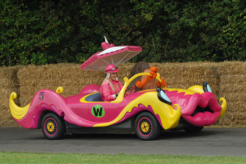 Wacky Races Real Life Compact Pussycat