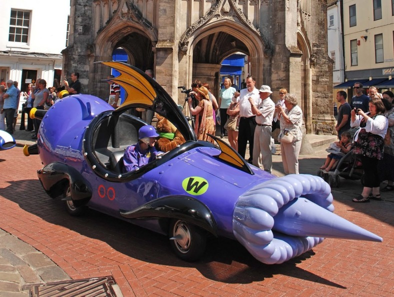 Wacky Races Real Life Mean Machine
