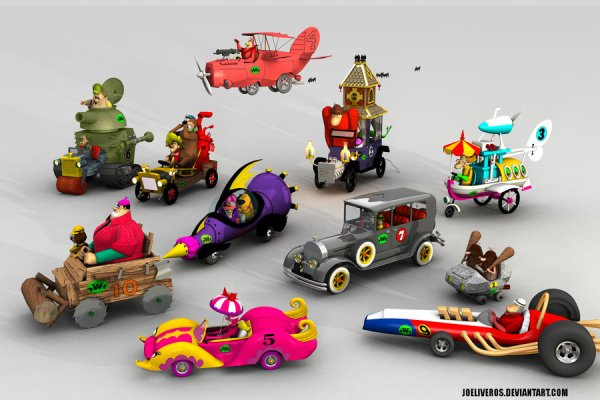 Wacky Races Toy Cars