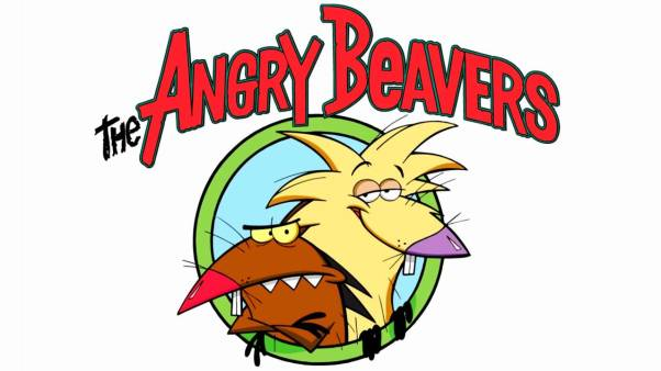 Angry Beavers Title Card