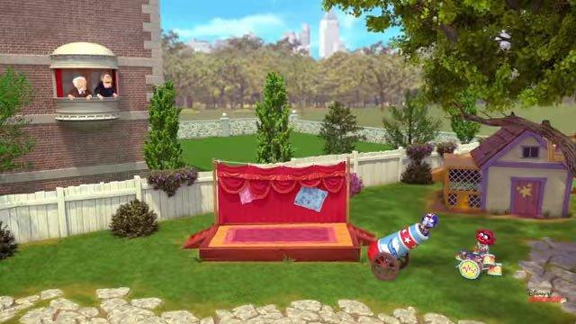 Muppet Babies 2018 Backyard 1