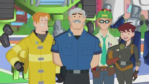 Transfromers Rescue Bots Family