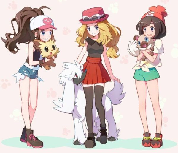 Female Pokemon Trainers