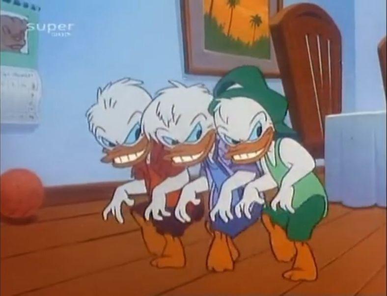 Quack Pack Triplets Sneak