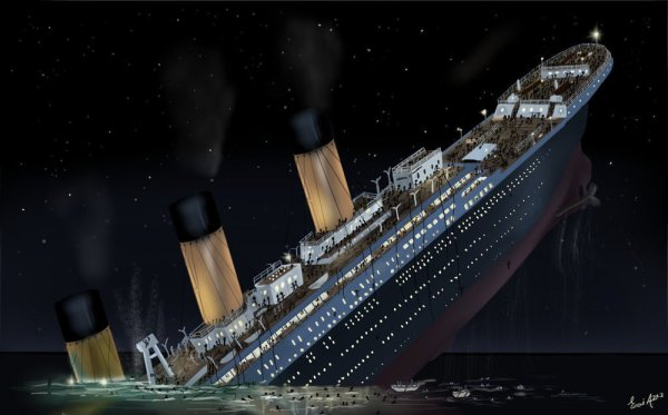 titanic_sinking_by_esai8mellows-d4xbme8