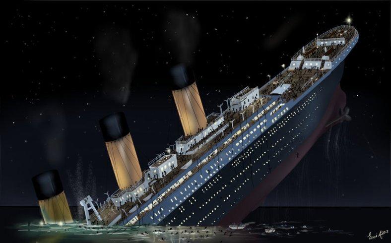 titanic_sinking_by_esai8mellows-d4xbme8