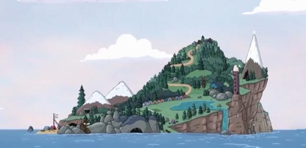 Summer Camp Island Location
