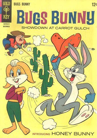Bugs_Bunny_comic featuring Honey Bunny