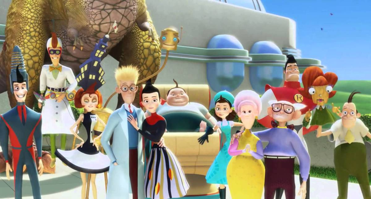 Meet the Robinsons Family